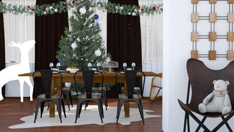 Christmas Dinner - Country - Dining room - by millerfam