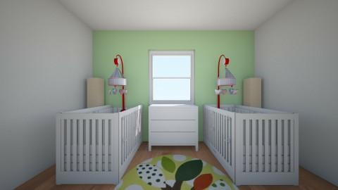 Baby boy nursery - Kids room - by Cora_da_B0ss