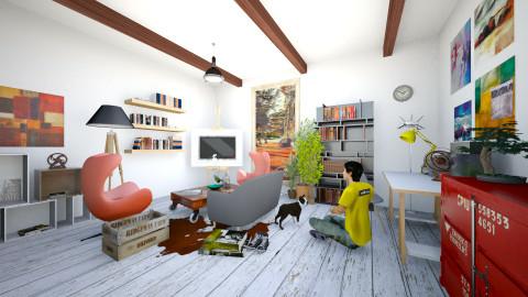 room3 - Living room - by aleksandarmaric999