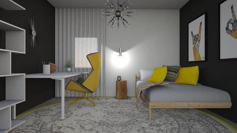 1284 1 - Bedroom - by Riki Bahar Elbaz