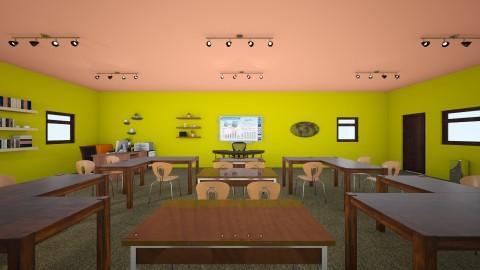 My Dream Classroom - Retro - Office - by jkiehl
