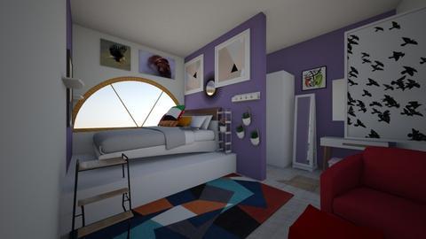 Bedroom Inso - Bedroom - by michaeladianel
