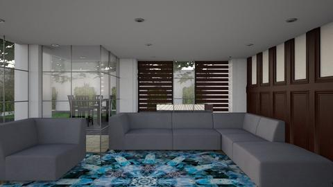 Low Rise - Minimal - Living room - by Gurns