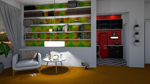 Orange Carpet - by donella