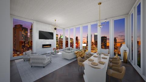 New York penthouse - by Alice Connor