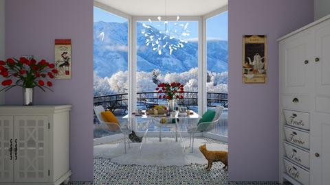 Lovely mornings  - Classic - Dining room - by Dragana2212