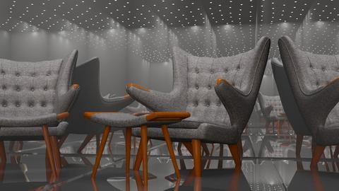 Hans Wegner Papa Bear - Vintage - Living room - by HenkRetro1960
