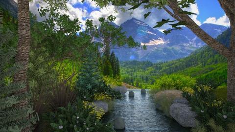 Happy Little Clouds - Garden - by GraceKathryn