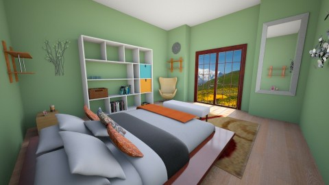 Bedroom Escape - Bedroom - by Shyista the Fashionista