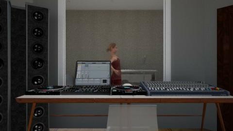 Record Studio - Minimal - Office - by Savina Ivanova