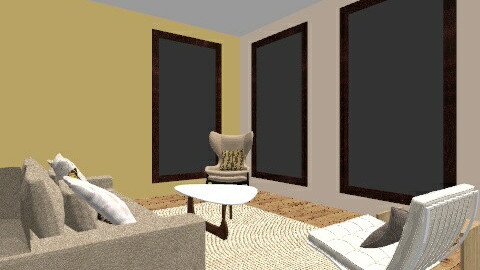 Neutral Lemon - Living room - by sianapinkee