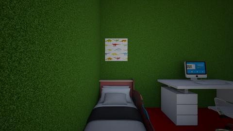 cristian cuadrado - Bedroom - by alumnes