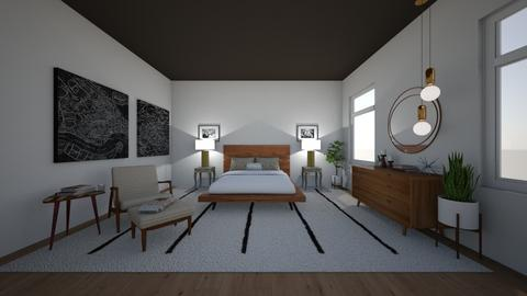 mid century modern - Bedroom - by Alice Connor