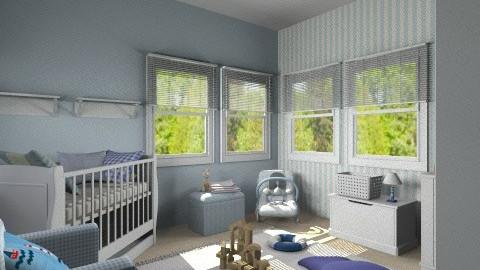 Baby Boy Bedroom - Kids room - by bia_freitas