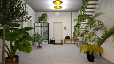 Urban Jungle Hallway  - by jasmin_jasmin