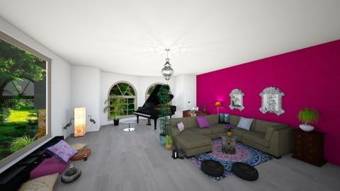First living room_v3 - Living room - by jonofer