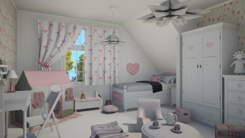 girl room - Kids room - by miadesign