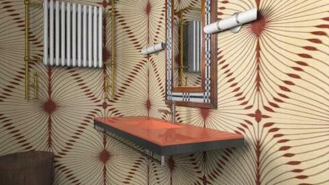 Technicolour Project VII - Vintage - Bathroom - by samantha_payne