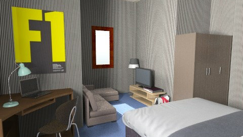 ekals - Bedroom - by barly