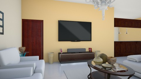 A15 interior 2 - Living room - by TamikaDM