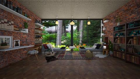 nature - Living room - by regenboogdwerg