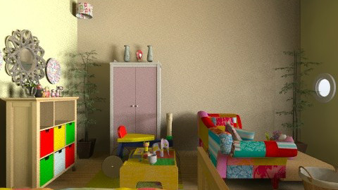 fullcolor - Kids room - by Ace Bee