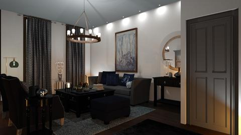 Template room - Living room - by RonRon