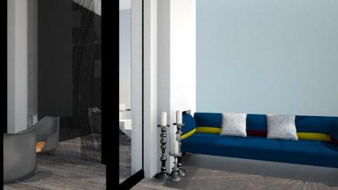 black_wardr_ - Modern - Bedroom - by Varsha Liston