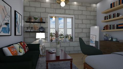 Studio apartment - Bedroom - by nonanymous_