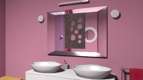 bathroom1 - Glamour - Bathroom - by rebdu26