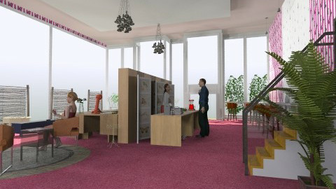 Cafe10 - Modern - Living room - by lilme_2k