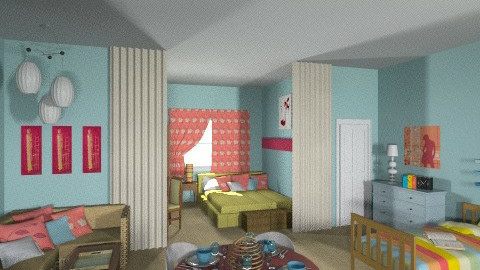 Rhoda Moves to NY 1 - Vintage - Bedroom - by Patti58