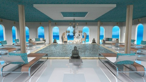 pool - Glamour - by Desmonde Monroe