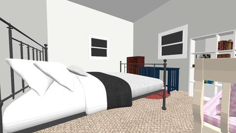 Livvy Room - Vintage - Bedroom - by lculpe501