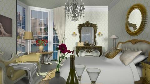Daisy s bedroom - Classic - Bedroom - by XValidze