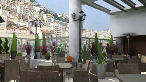 resto à  Marseille - Eclectic - Garden - by calu13