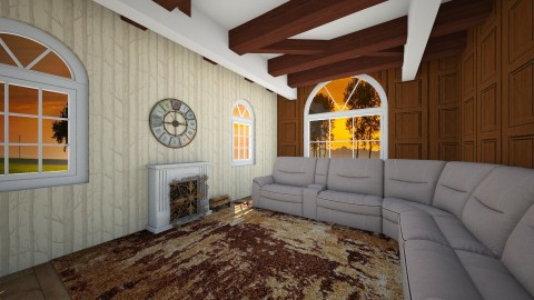 fire place - Living room - by KatieBowes
