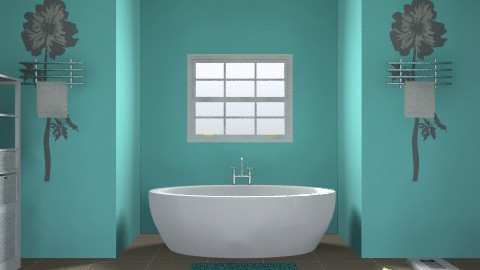 bathroom - Minimal - Bathroom - by malou84