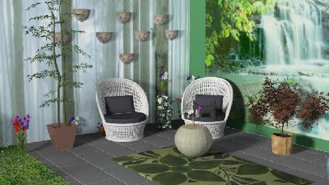 b - Modern - Garden - by kymont
