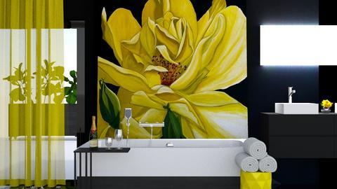 yellow b - by ritsa
