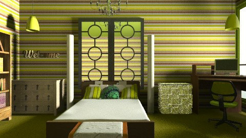 Joshs Mansion Bedroom - Classic - Bedroom - by cici45