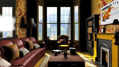 Dark - Glamour - Living room - by mrschicken