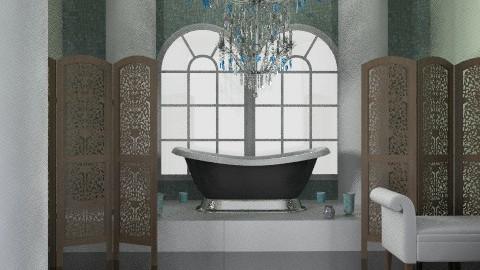 Dramatic Bath - Glamour - Bathroom - by PomBom