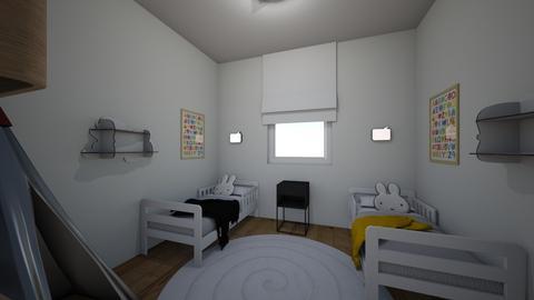 Maya Elul kidsroom 1 - Kids room - by erlichroni