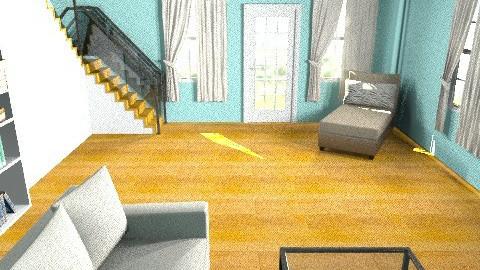 Beach House - Minimal - Living room - by oscalora