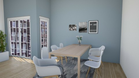 Woonkamer - Dining room - by Simonexx
