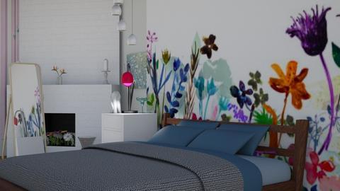 Wild flowers - Bedroom - by The quiet designer