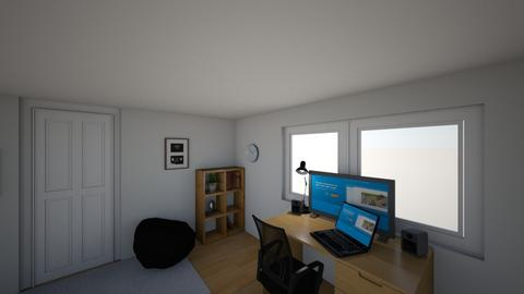 Room project 1_4 - Modern - Bedroom - by mikeeXD