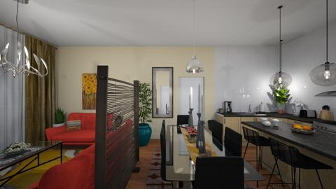 Open Plan - Modern - Living room - by almecor2311