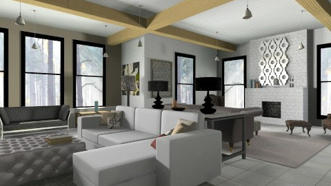 countrymodern - Country - Living room - by Boccafella